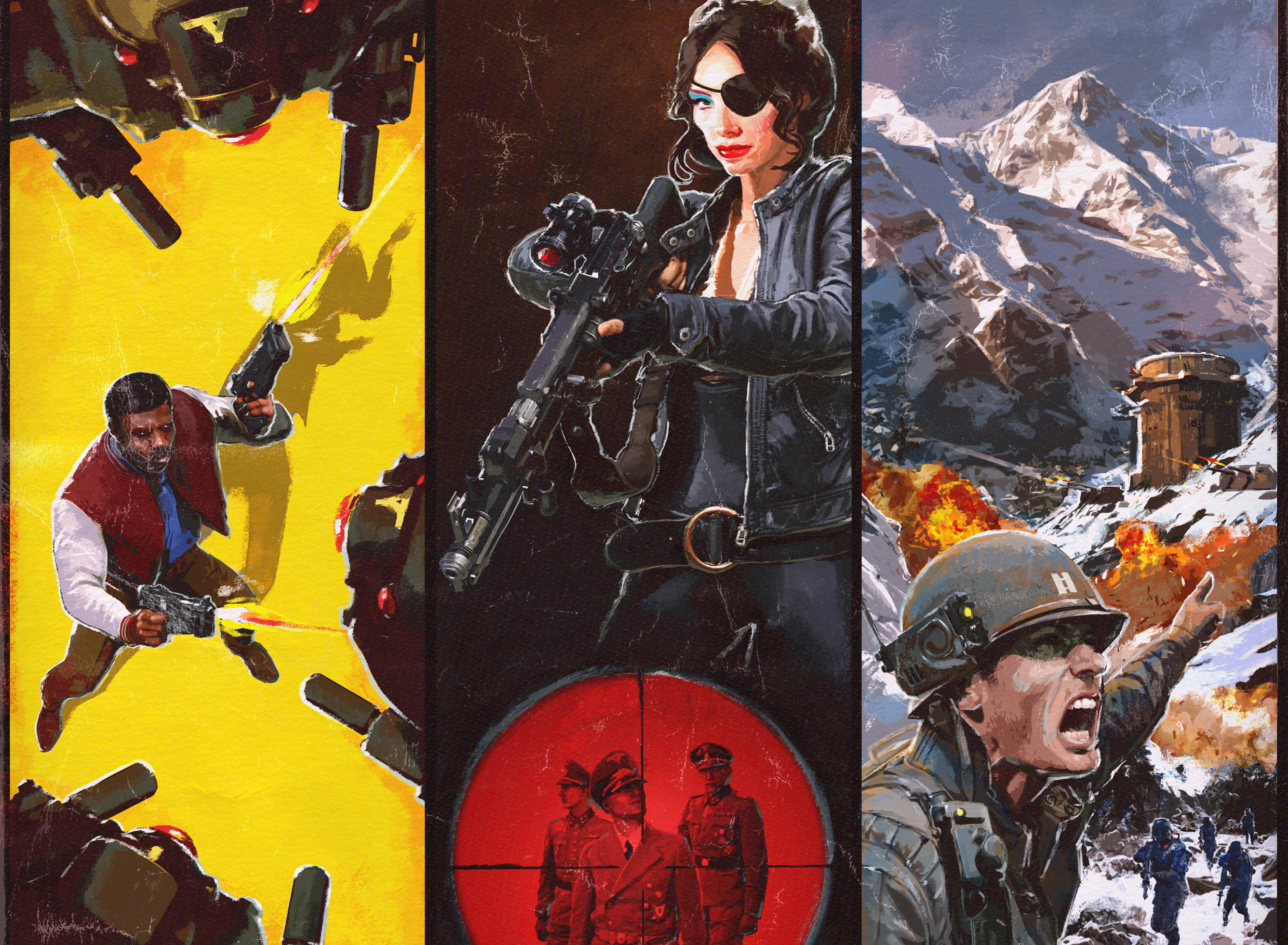 Wolfenstein II: The New Colossus season pass and pre-order DLC detailed screenshot