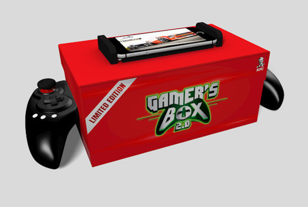 This is real life: KFC and Mountain Dew are selling a box o' chicken-filled game controller (price update) screenshot