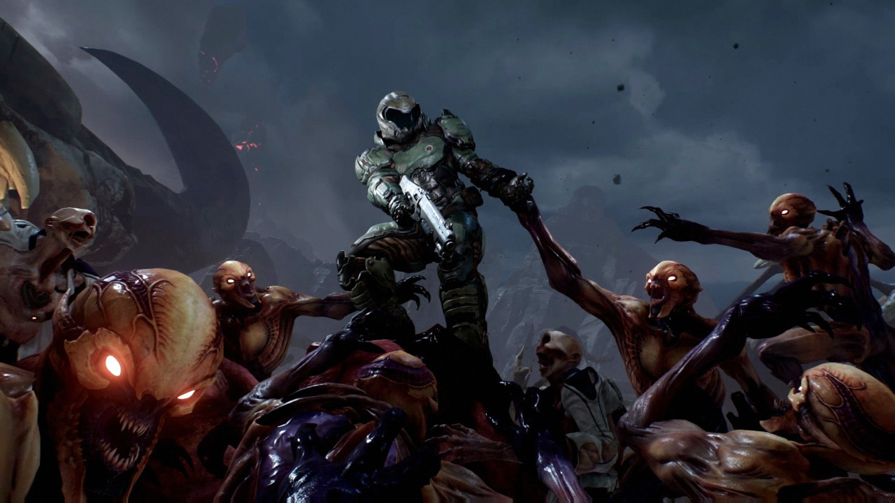 Doom is free on PS4 this weekend