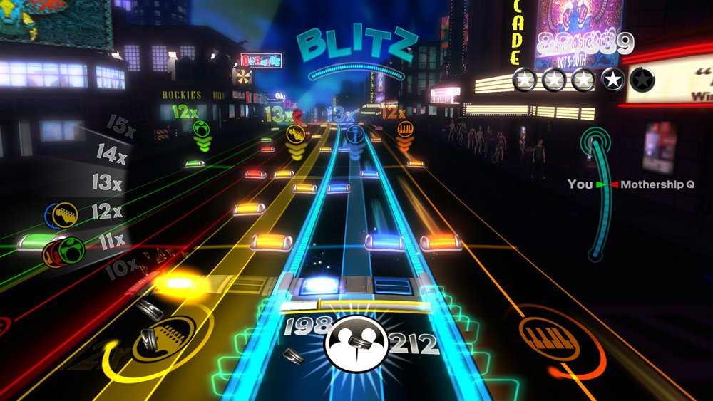 Rock Band Blitz will be playing its final concert soon screenshot