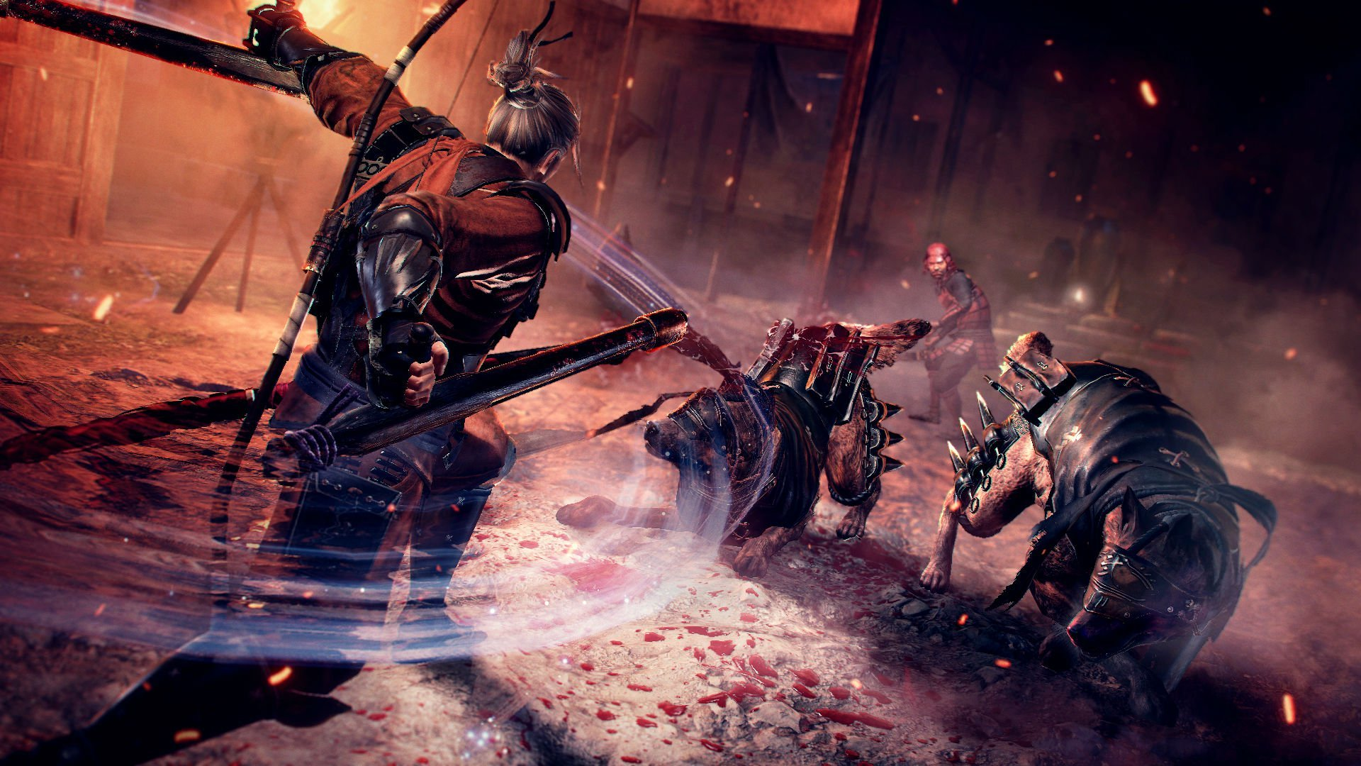 Here's a late look at the trailer for Nioh's Defiant Honor DLC screenshot