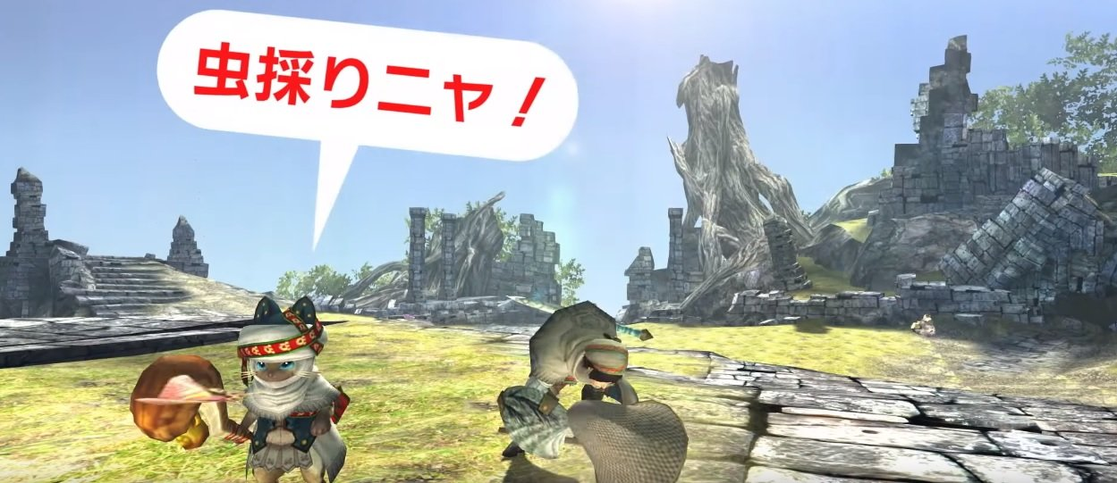 Before you download Monster Hunter XX's region free Switch demo, get a brief look at it screenshot