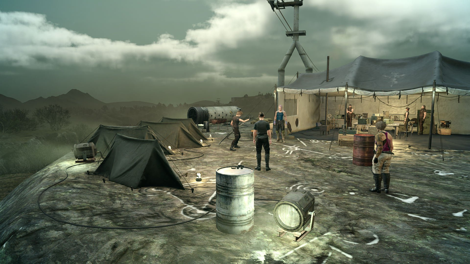 Final Fantasy XV Comrades closed online test starts today screenshot