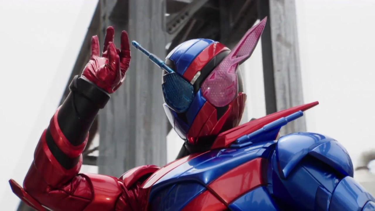 Science and henshin heroes collide in Kamen Rider City Wars screenshot