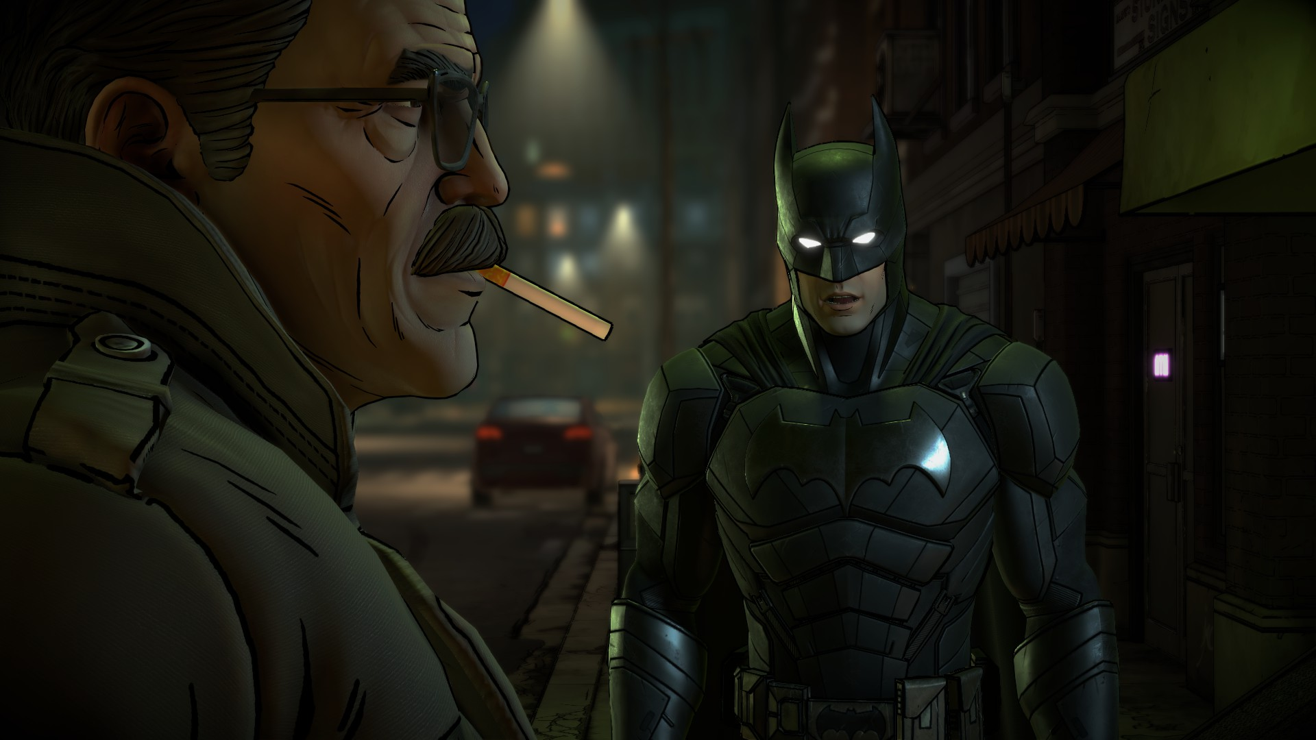 Review: Batman - The Enemy Within: The Enigma screenshot