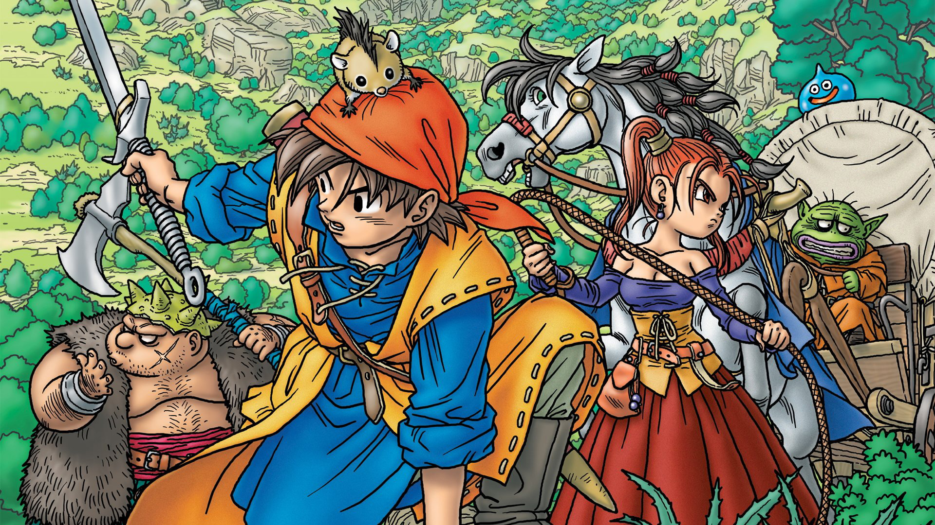 The greatest theme song in all of gaming is clearly the Dragon Quest theme screenshot