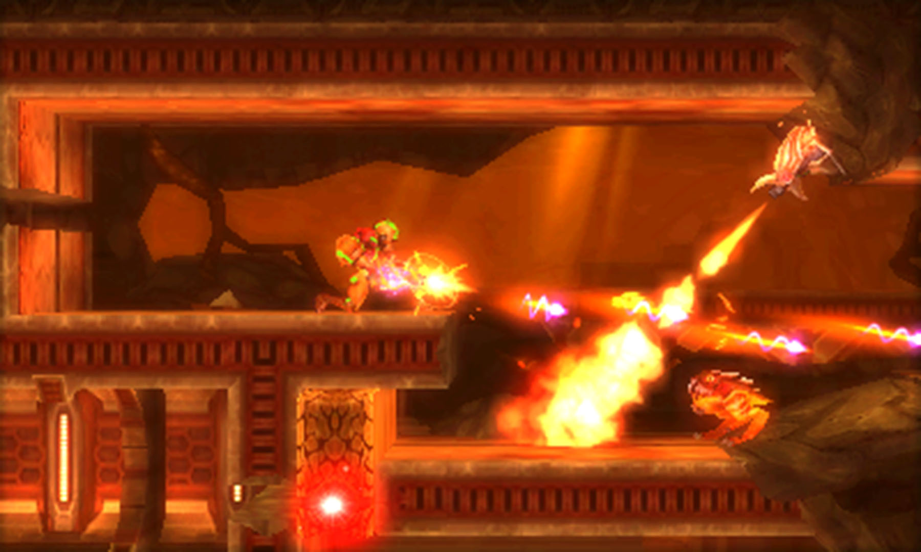 Metroid: Samus Returns will have an unlockable hard mode in addition to the amiibo one screenshot