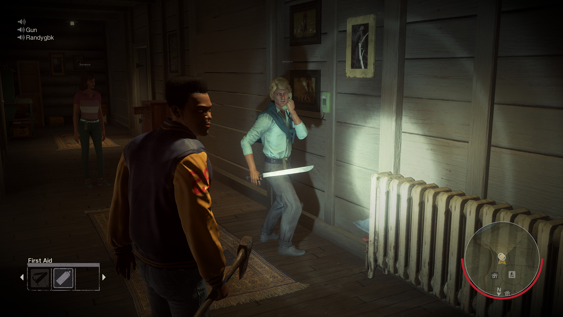 The next Friday the 13th update will target team killing screenshot