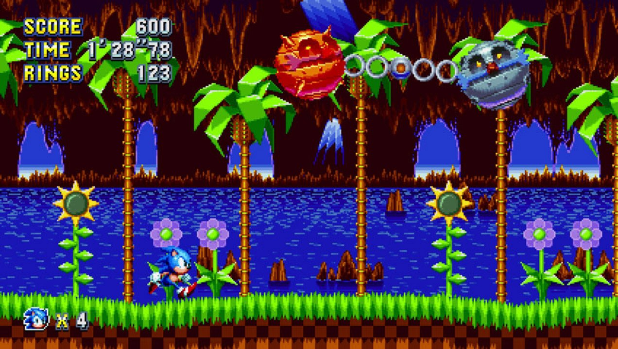 With less than a week to go, here's the Sonic Mania mini boss theme screenshot