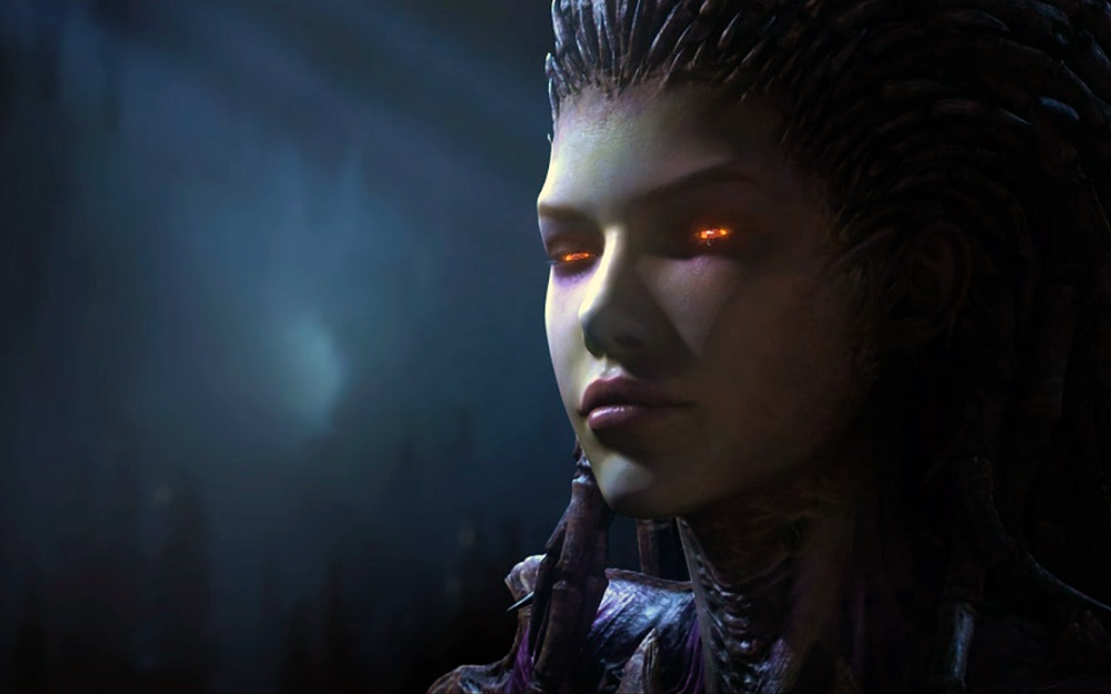 StarCraft II being used to train artificial intelligence screenshot