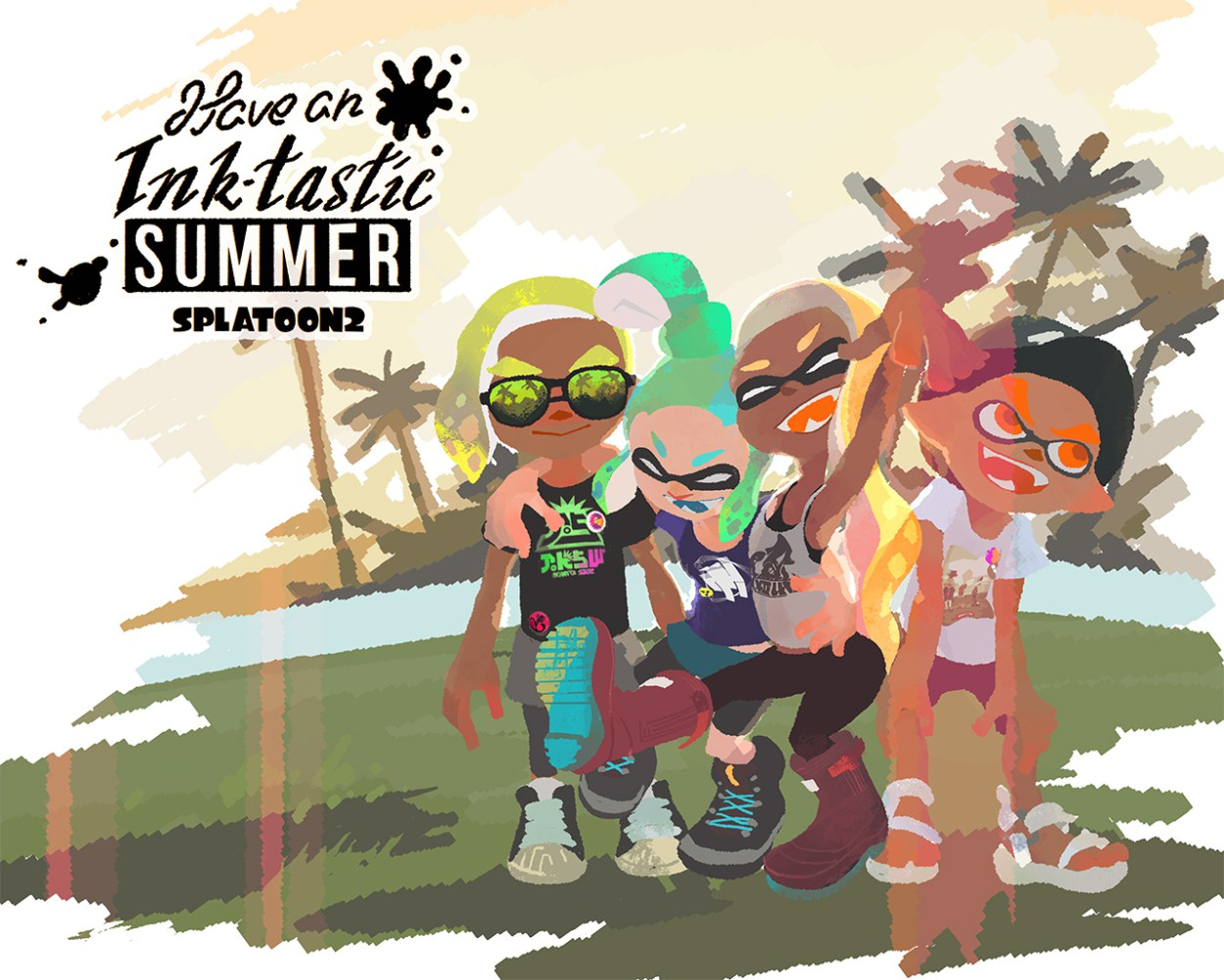 Splatoon 2 gets some fun Summer clothing today screenshot