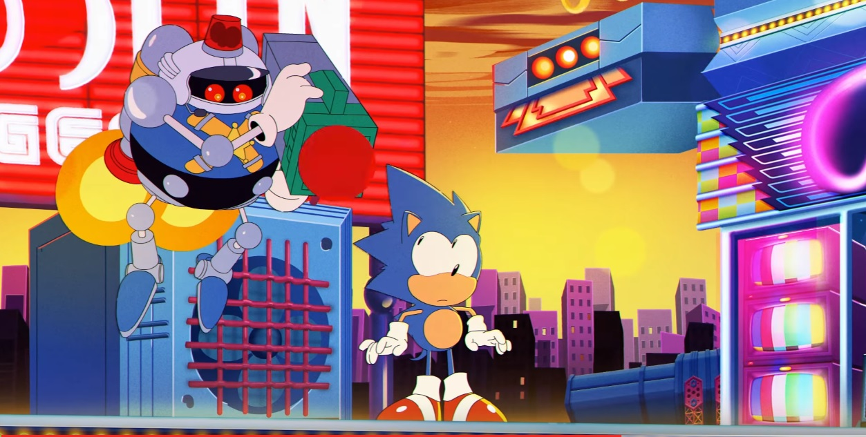 Sonic Mania's opening animation is just perfect screenshot