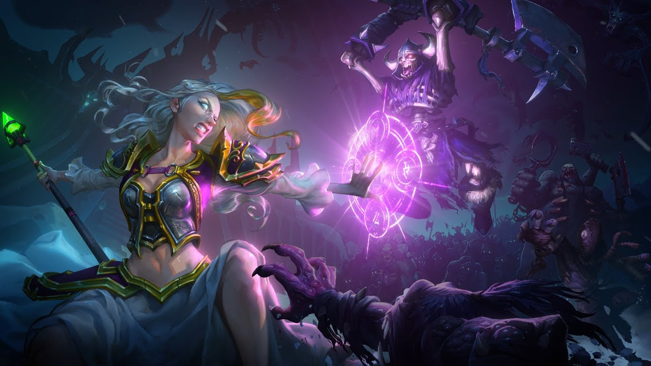 Hearthstone's Knights of the Frozen Throne expansion available now screenshot