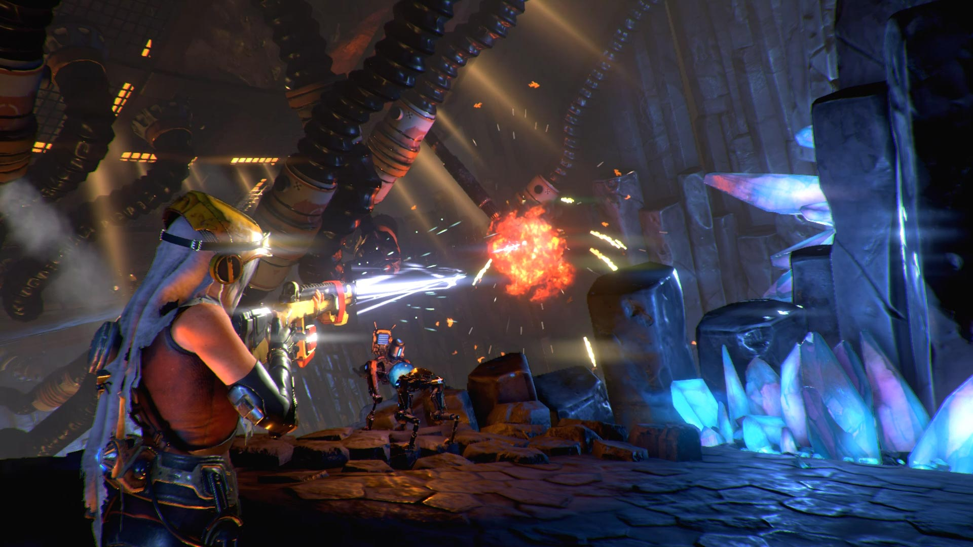 What's up with ReCore? We find out in five days screenshot