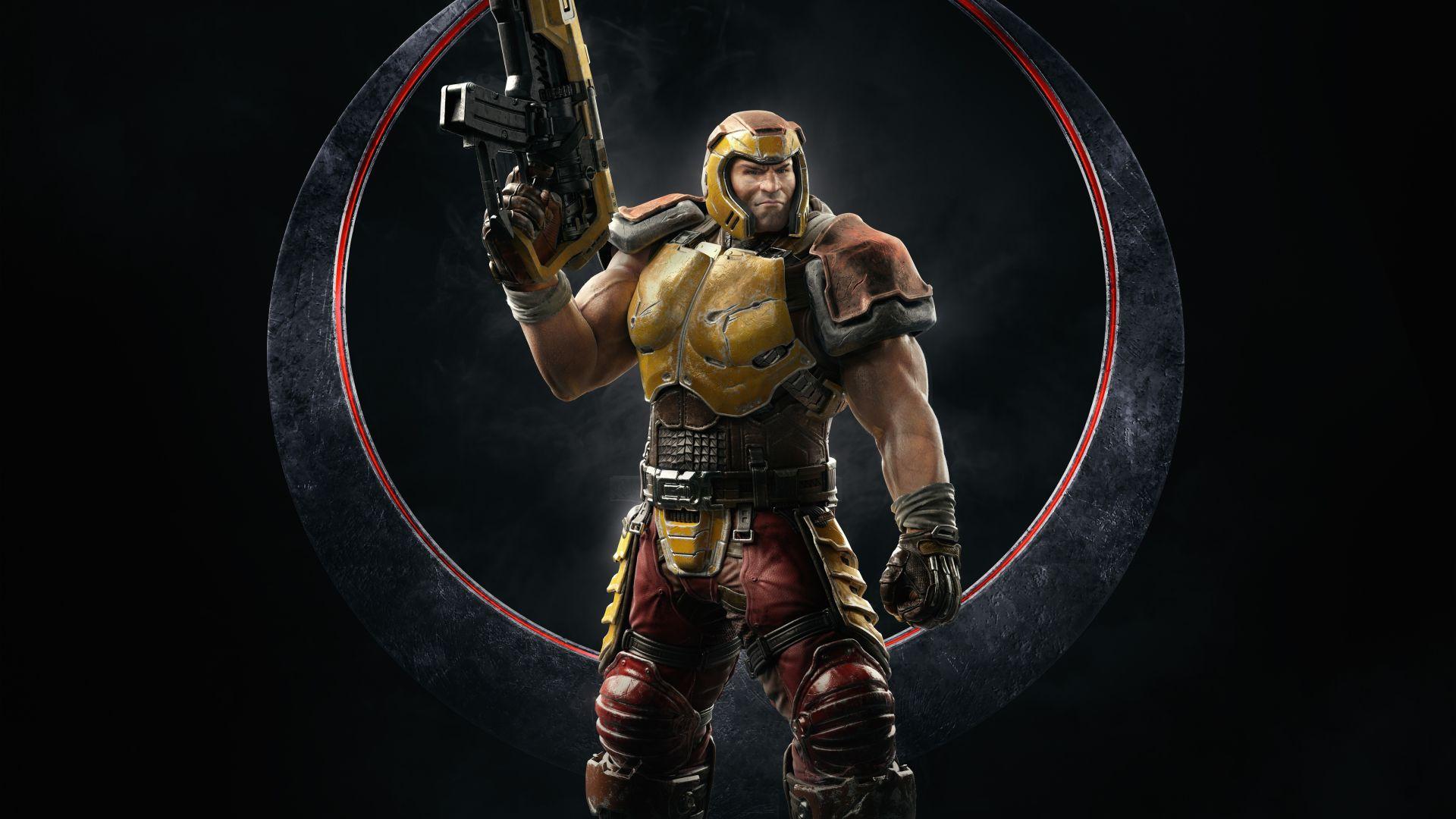Quake Champions enters early access next week screenshot