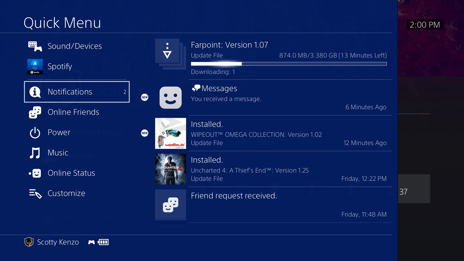 PS4's latest firmware update is live for beta testers screenshot