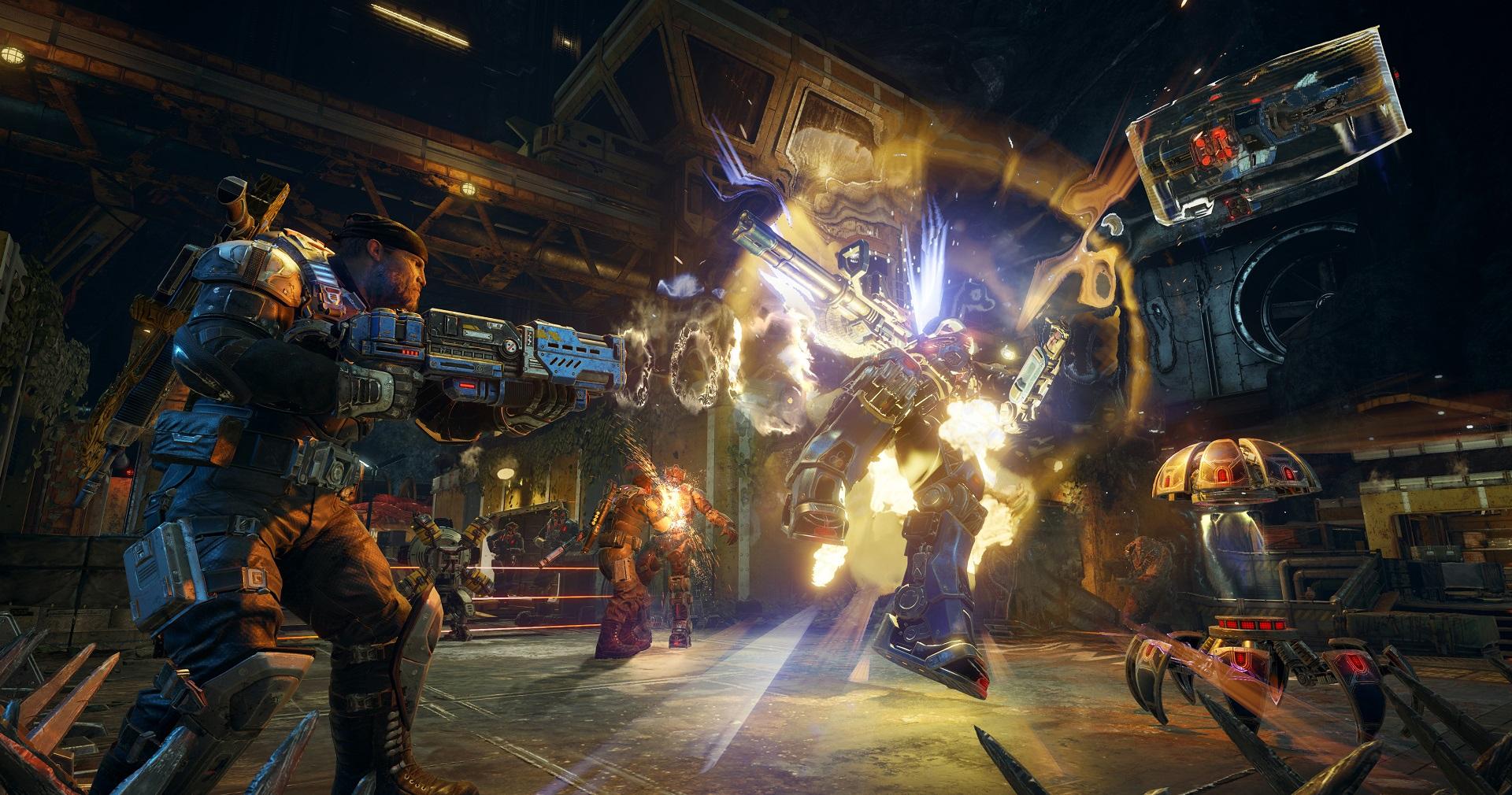 Gears of War 4 is getting a shorter Horde mode variant screenshot