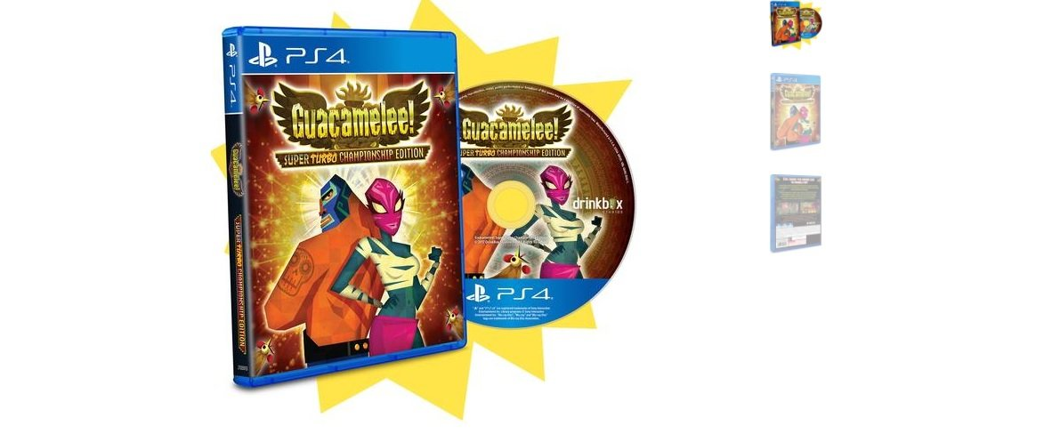 Guacamelee is getting a limited PS4 retail edition screenshot
