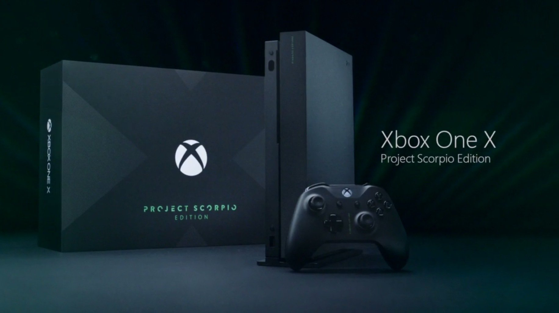 The Project Scorpio Name Lives On Through A Special Edition Xbox One X