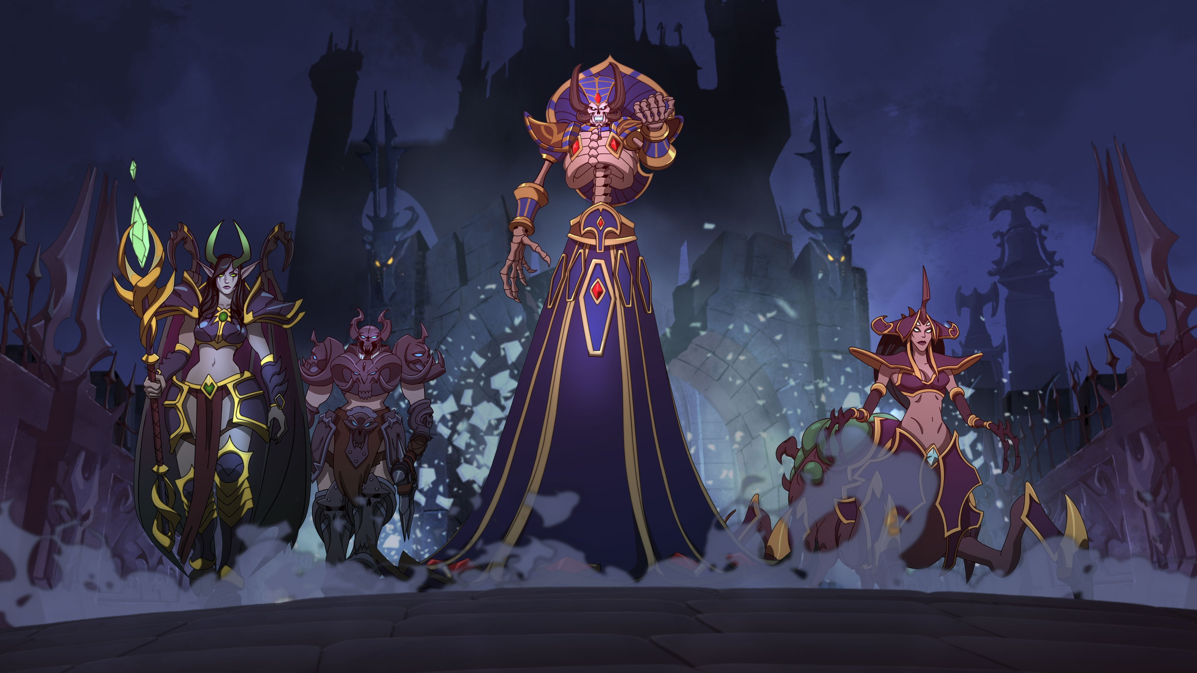 After years of waiting, Kel'Thuzad is finally coming to Heroes of the Storm screenshot
