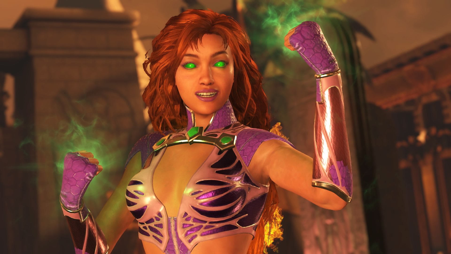 Starfire Gets The Royal Treatment In Injustice 2