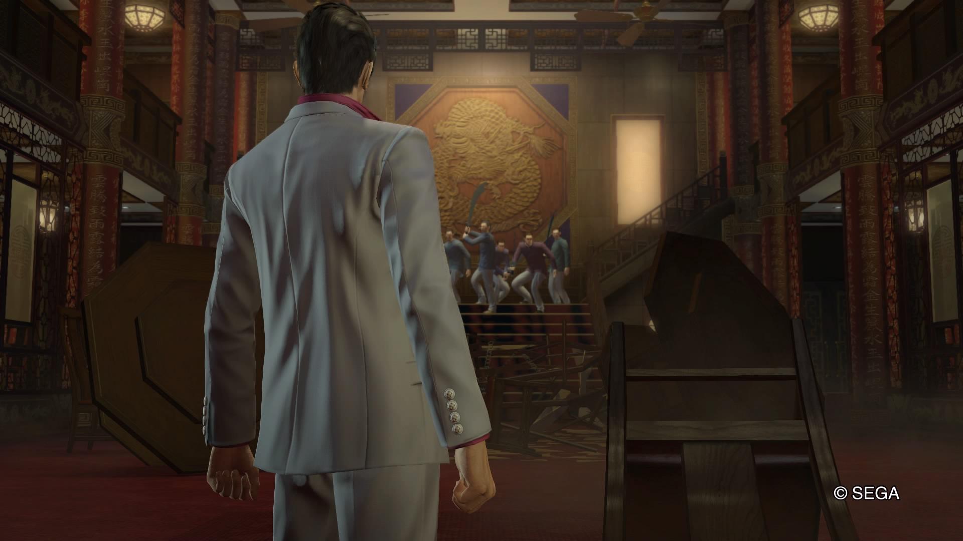 Review: Yakuza Kiwami screenshot