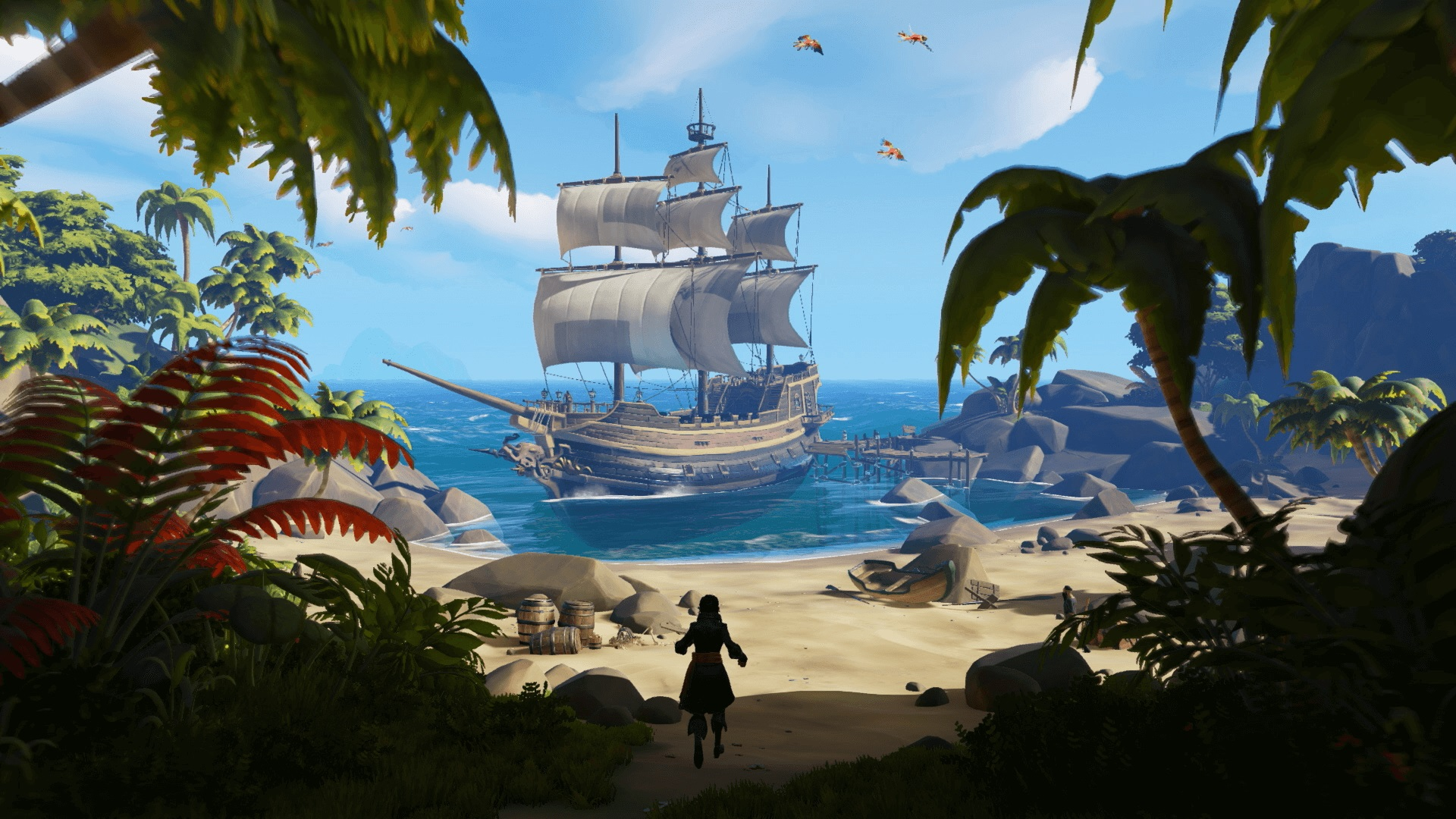 Sea Of Thieves Will Be Cross-play On PC And Xbox