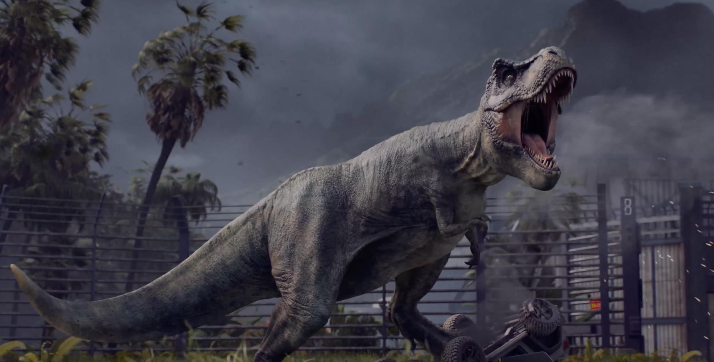 Life, uh, finds a way in Jurassic World Evolution screenshot