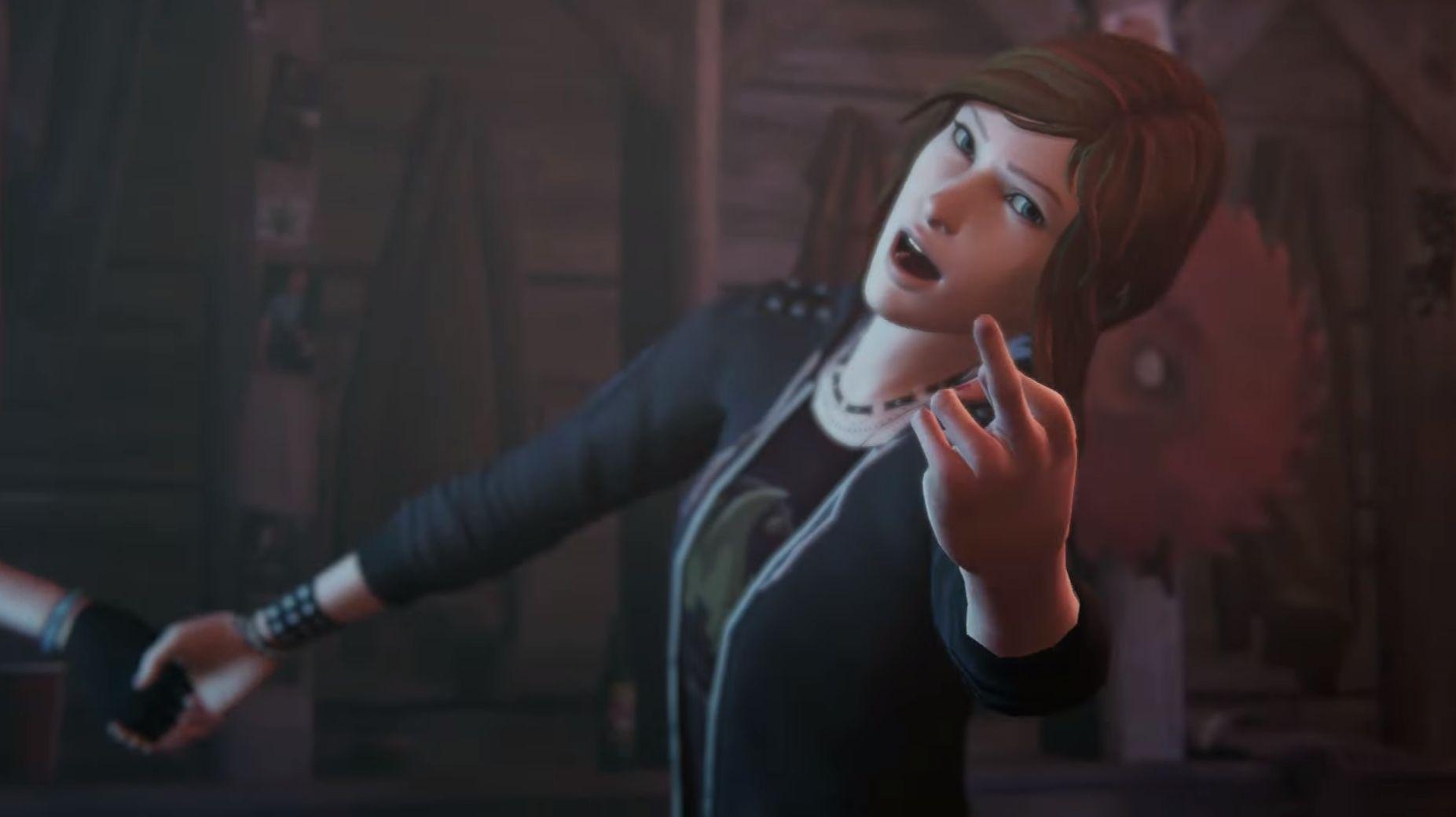 Chloe sees her dad die in new Life is Strange Before the Storm trailer screenshot