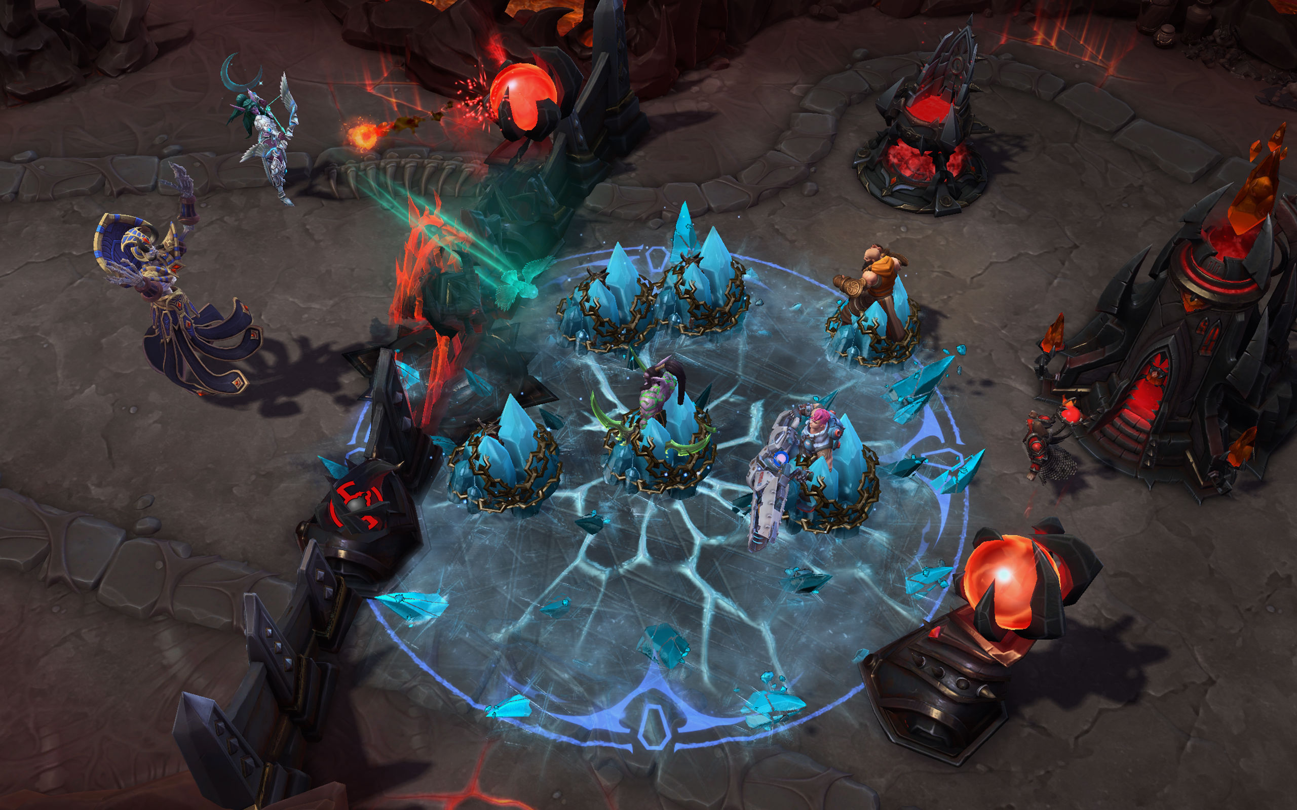 Kel'Thuzad is the first character in Heroes of the Storm that has a base level talent quest screenshot