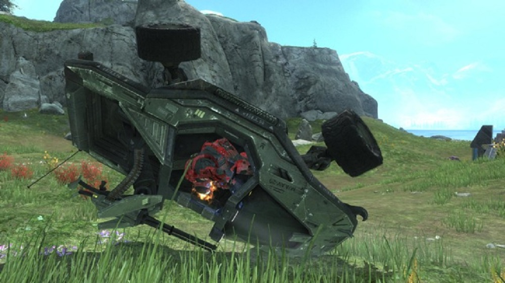 Halo fan ready to roll in home built Warthog screenshot