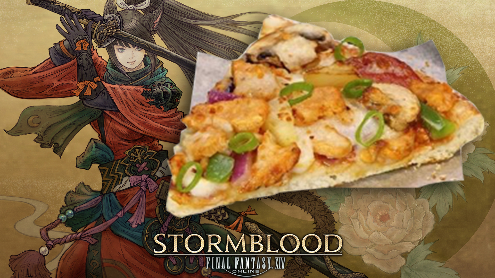 Final Fantasy has a pizza promotion for you folks down under screenshot