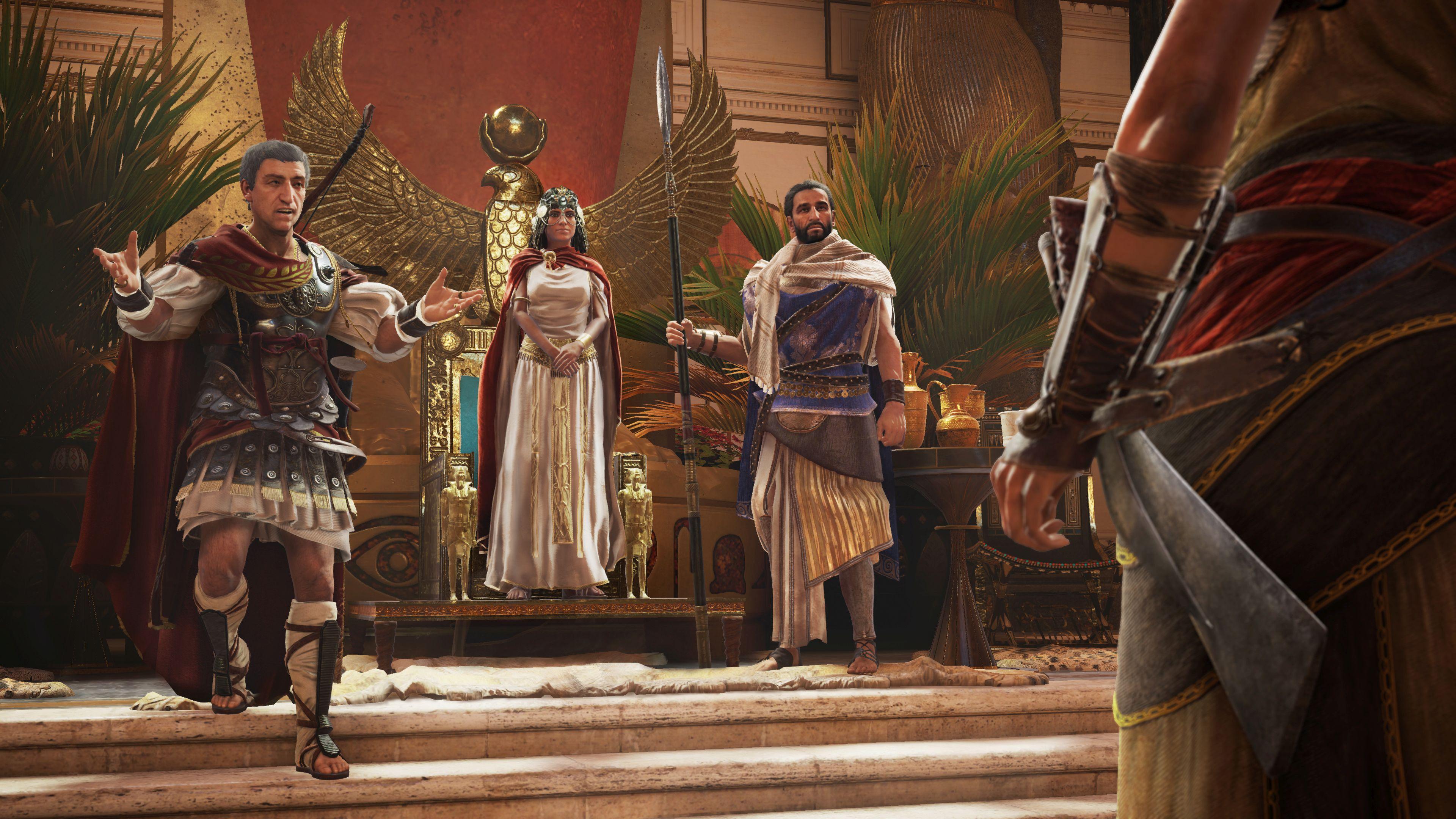 Julius Caesar And Cleopatra Debut In New Assassin S Creed Origins