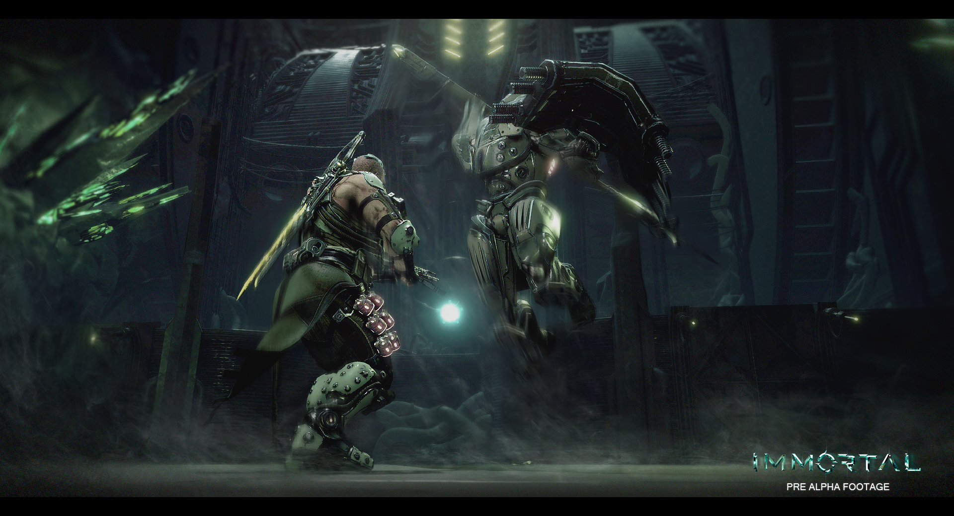 Immortal: Unchained is a Souls-like sci-fi shooter screenshot