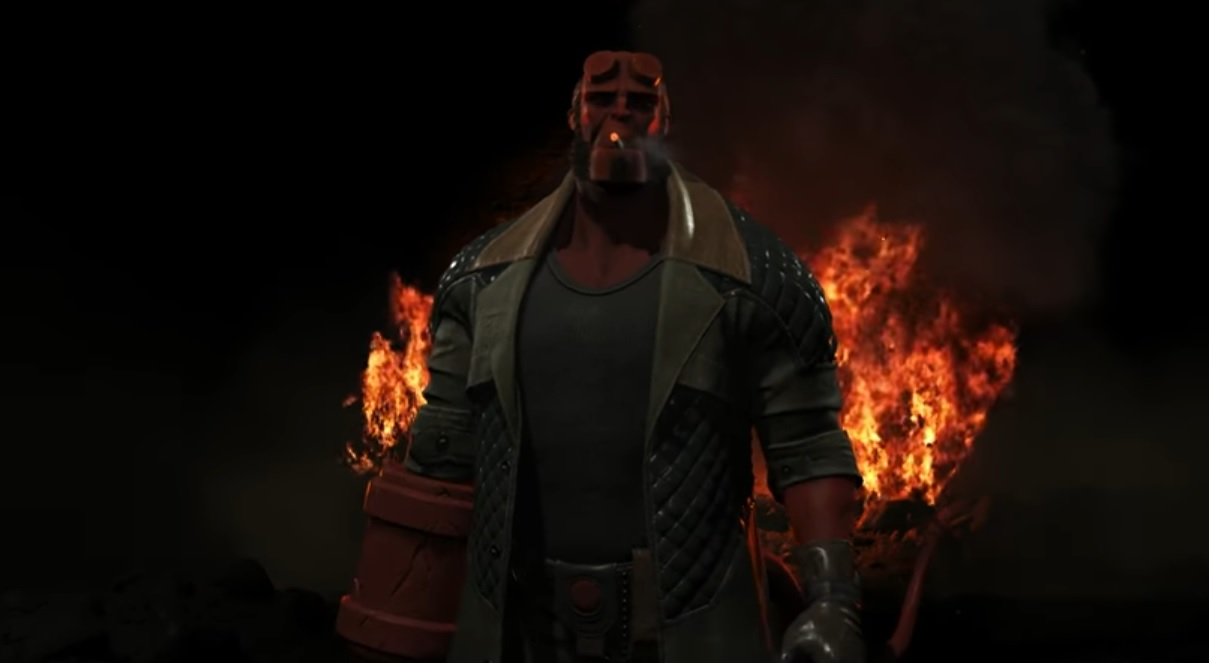 Hellboy is coming to Injustice 2 along with Raiden and Black Manta screenshot