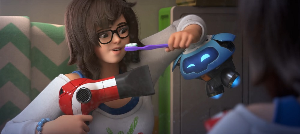 New Overwatch animated short focuses on Mei-Ling Zhou screenshot