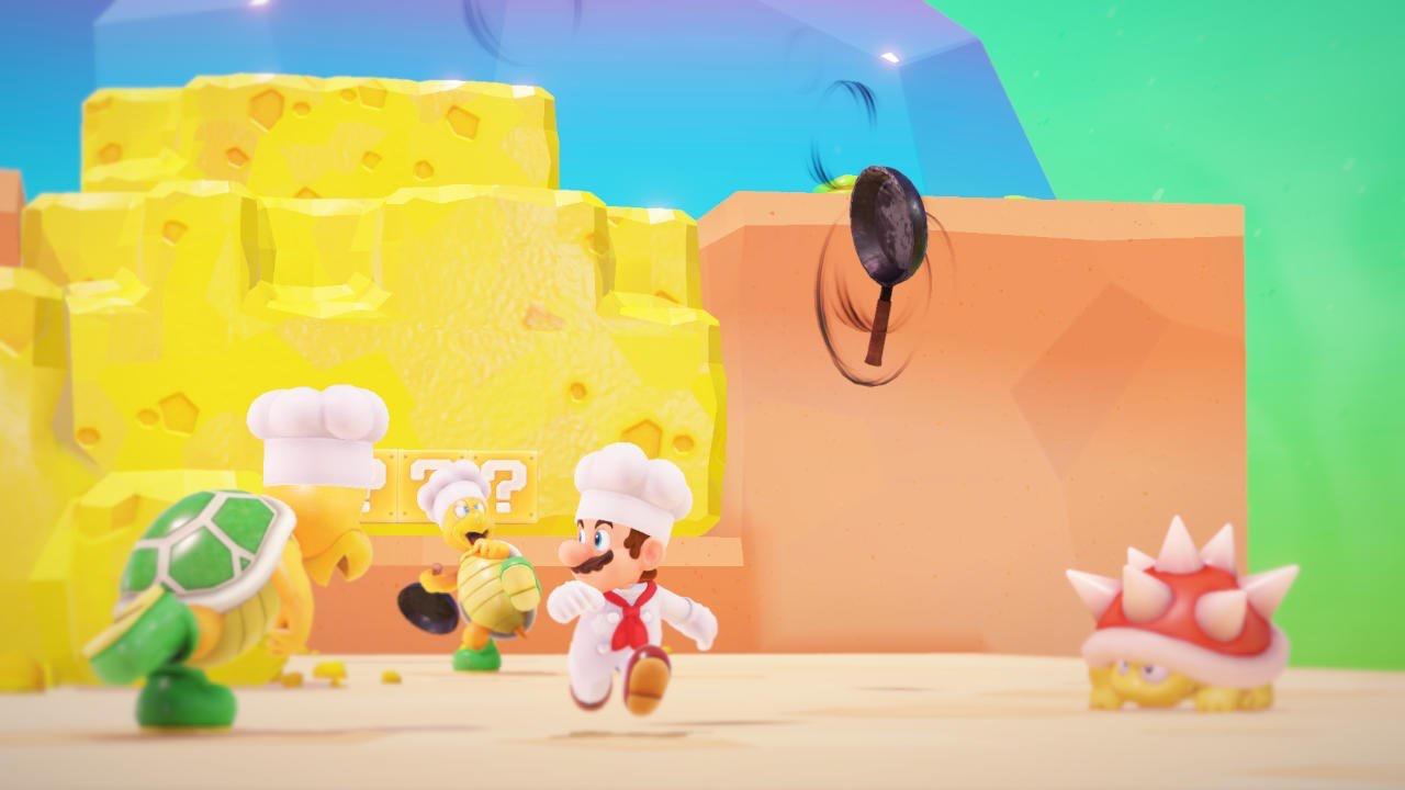Super Mario Odyssey's newest kingdom is for the foodies screenshot