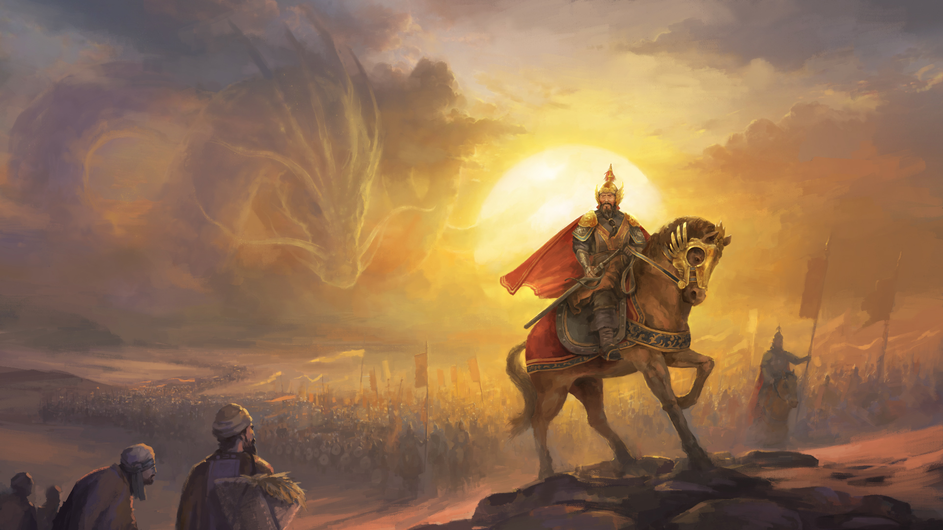 Feel the power of China in the new Crusader Kings II expansion screenshot