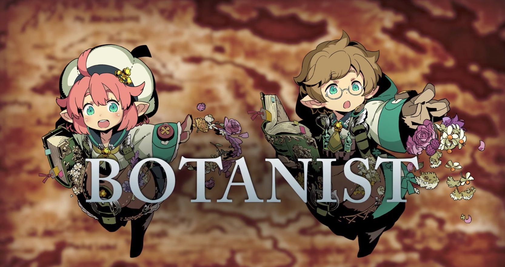 Heal your friends and kill your enemies with plants as a Botanist in Etrian Odyssey V screenshot