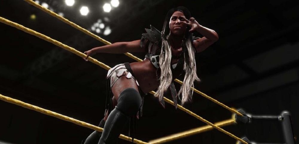 Stars added to WWE2K18 include Ember Moon, Nakamura and the Von Erichs screenshot
