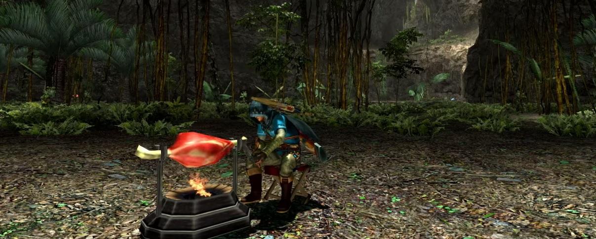 Capcom showcases Zelda: Breath of the Wild and Monster Hunter collaboration screenshot