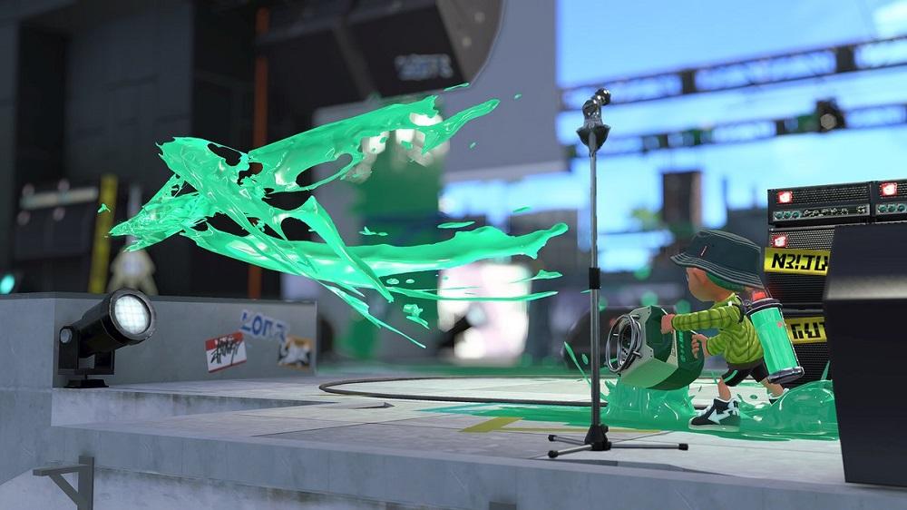 Sloshing Machine returns to Splatoon 2 this weekend screenshot