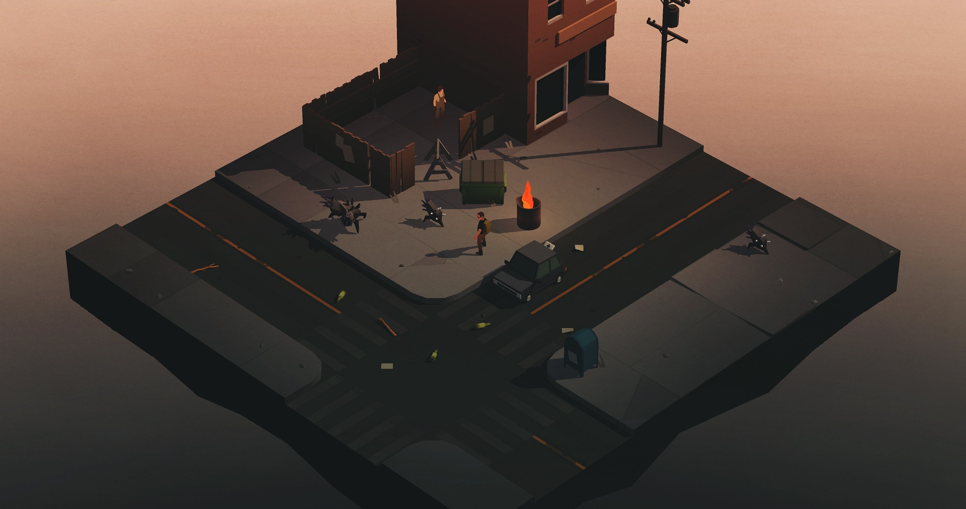 Overland is a tactical road trip game full of harrowing choices screenshot