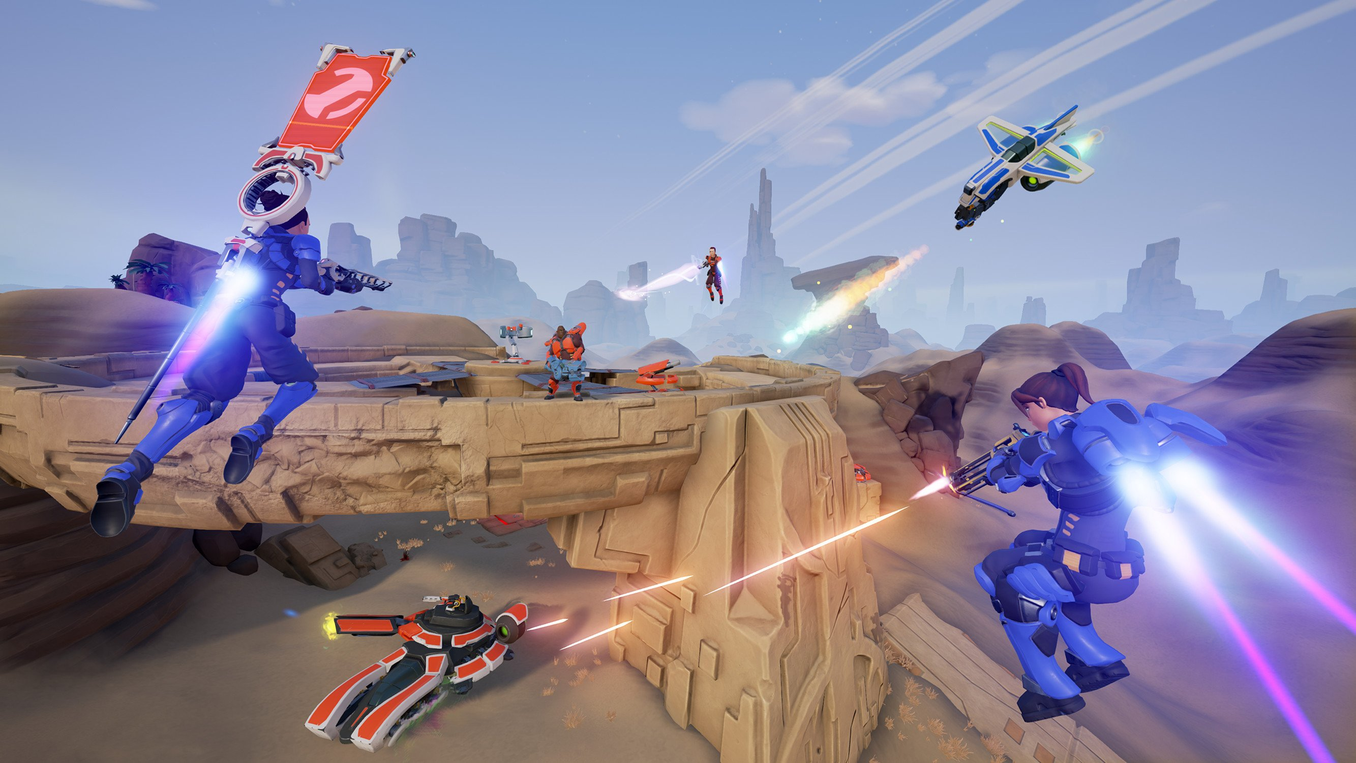 Jetpack shooter Midair is worth a look for Tribes fans screenshot
