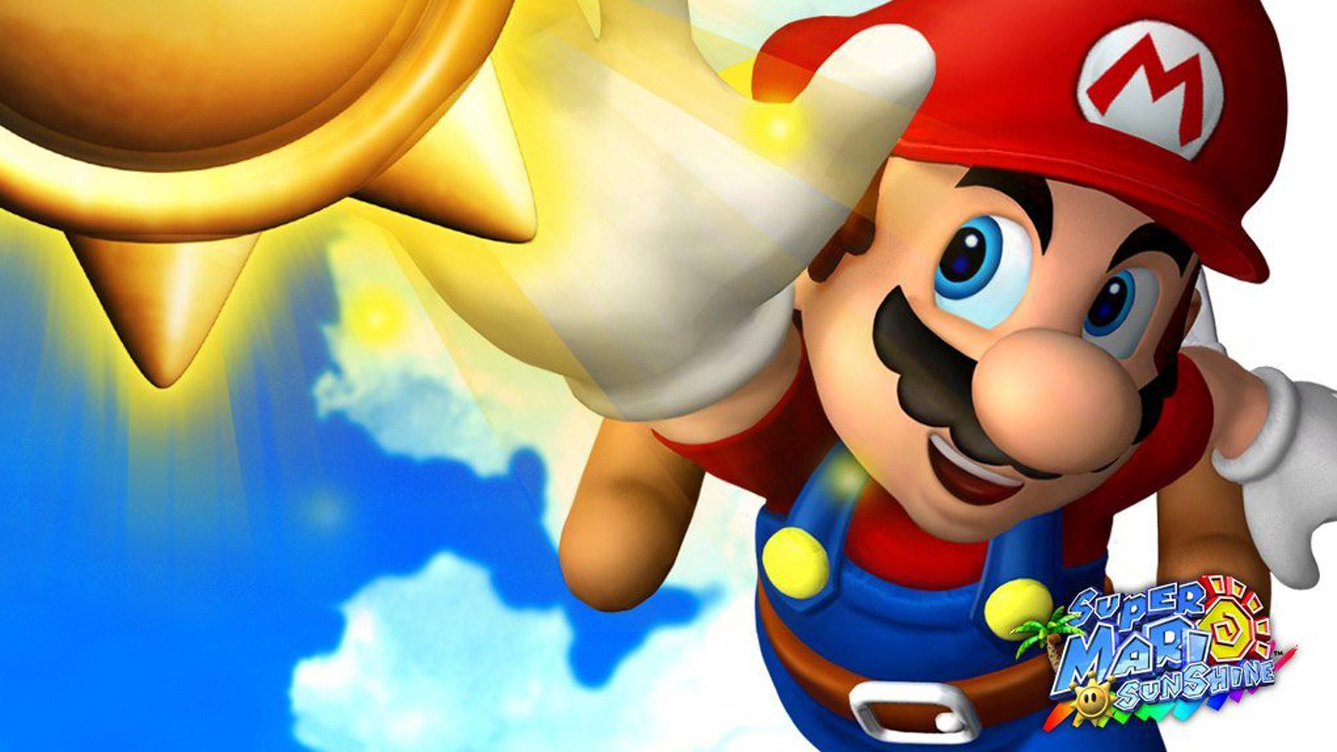 Happy 15th birthday Super Mario Sunshine! You're still the second best 3D Mario screenshot