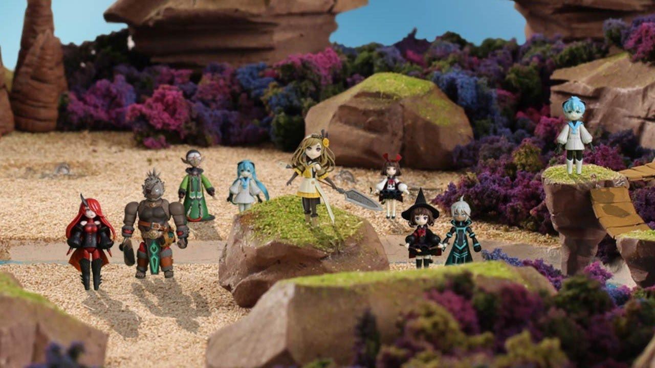 Get to know the stars of Mistwalker's Terra Battle 2 and Terra Wars screenshot