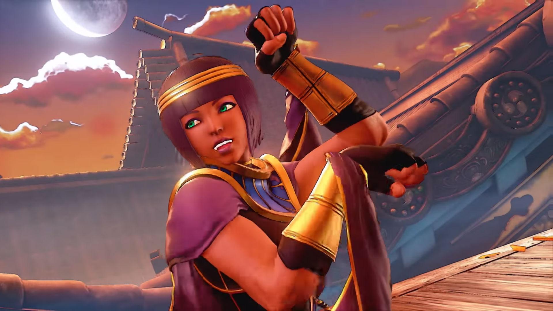 Fortune teller Menat coming to Street Fighter V August 29 screenshot