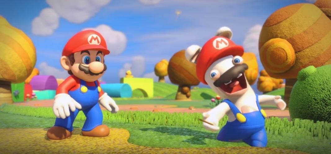 Buy Mario + Rabbids Kingdom Battle at Best Buy and get a free goofy hat screenshot