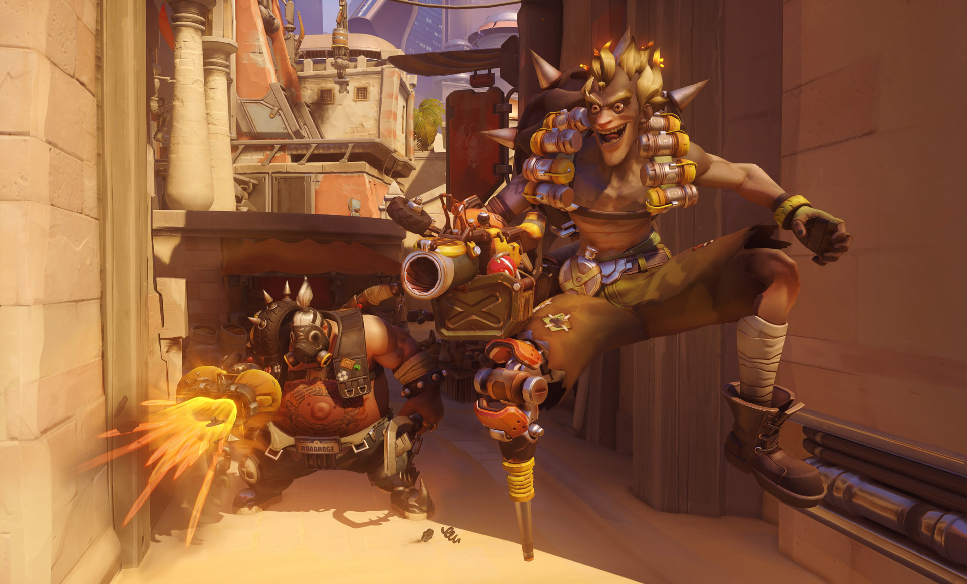 Deathmatch is live in Overwatch with hero changes screenshot