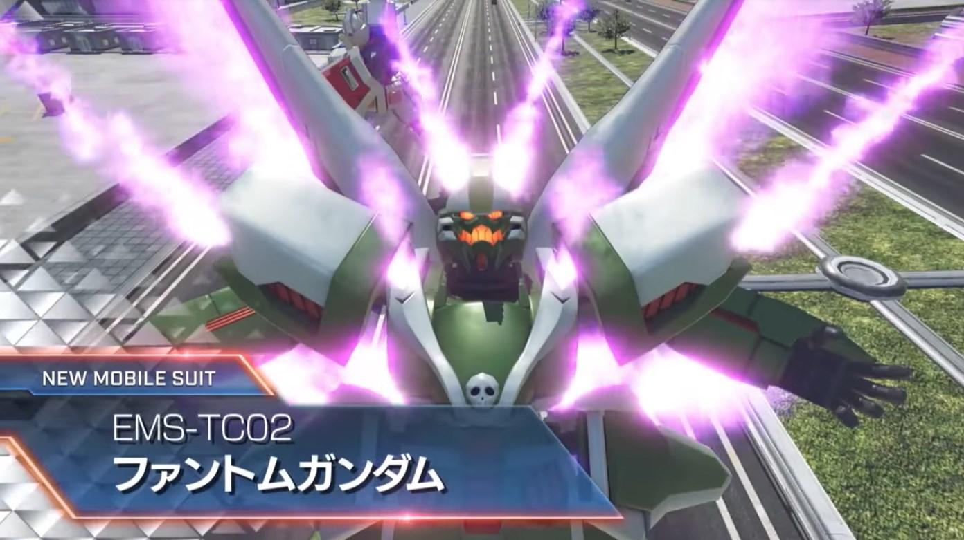 Playable boss mode coming to Gundam Versus, witness the debut trailer for Phantom Gundam screenshot
